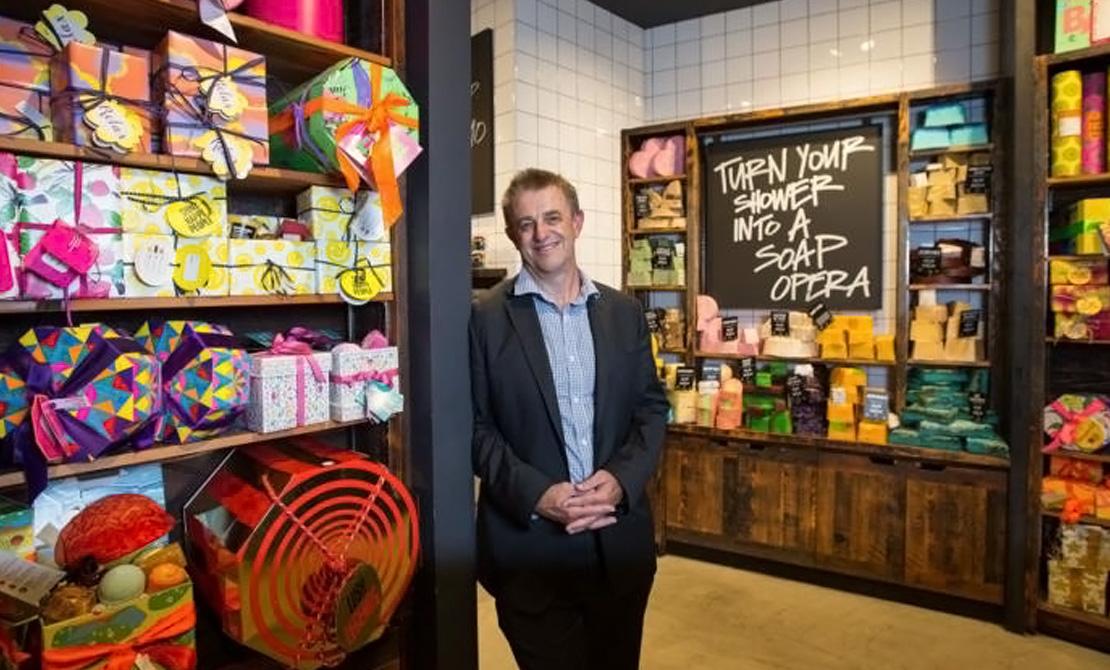 Mark Lincoln, Lush Australia Director