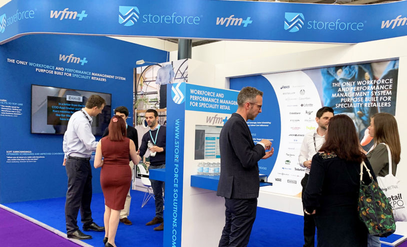 Discover workforce management solutions with StoreForce at Retail Expo 2020, London