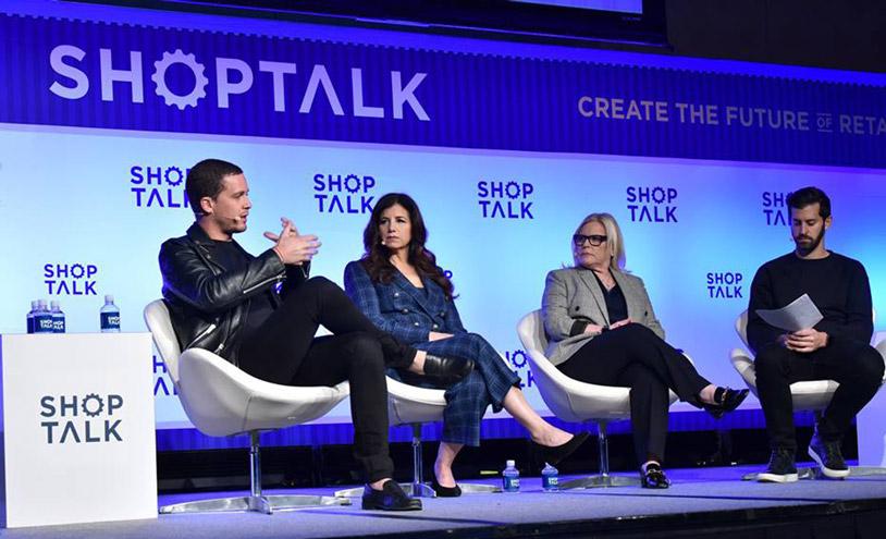 Shoptalk's panel at Las Vegas.