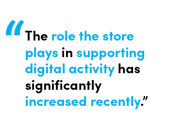 The role the store plays in supporting digital activity has significantly increased recently. - Quote by Allie Gratton, Services Director at StoreForce