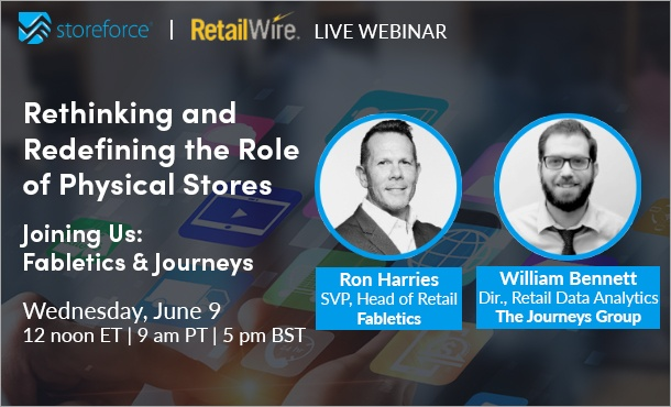 Webinar: Rethinking and Redefining the Role of Physical Stores