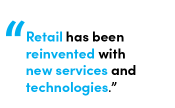 Retail has been reinvented with new services and technologies - Quote by Chris Matichuk